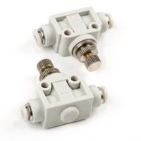 φ4 вентиль (φ4 straight throttle valve(2-Pack))